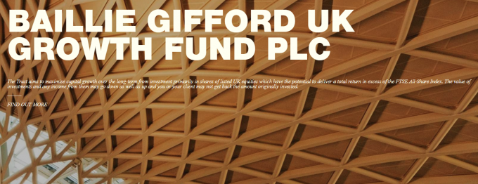Baillie Gifford UK Growth Fund : BGUK