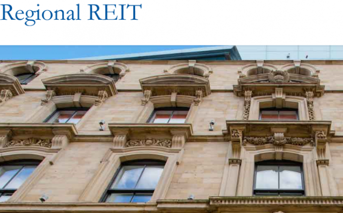 Regional REIT plans bond issue
