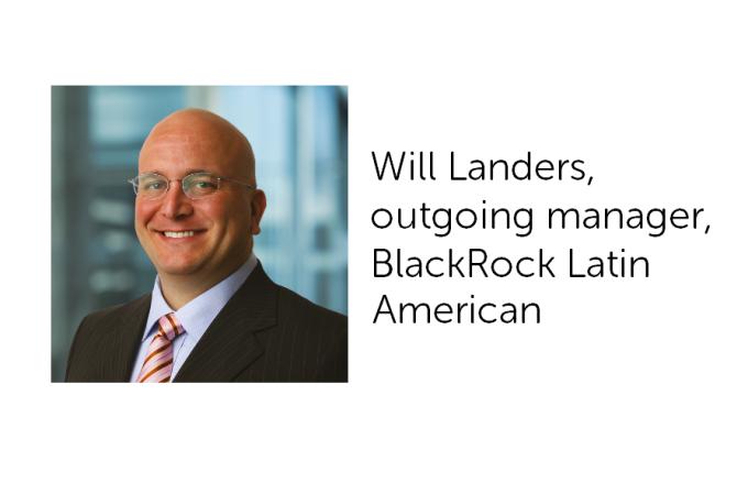 Will Landers steps down at BlackRock Latin