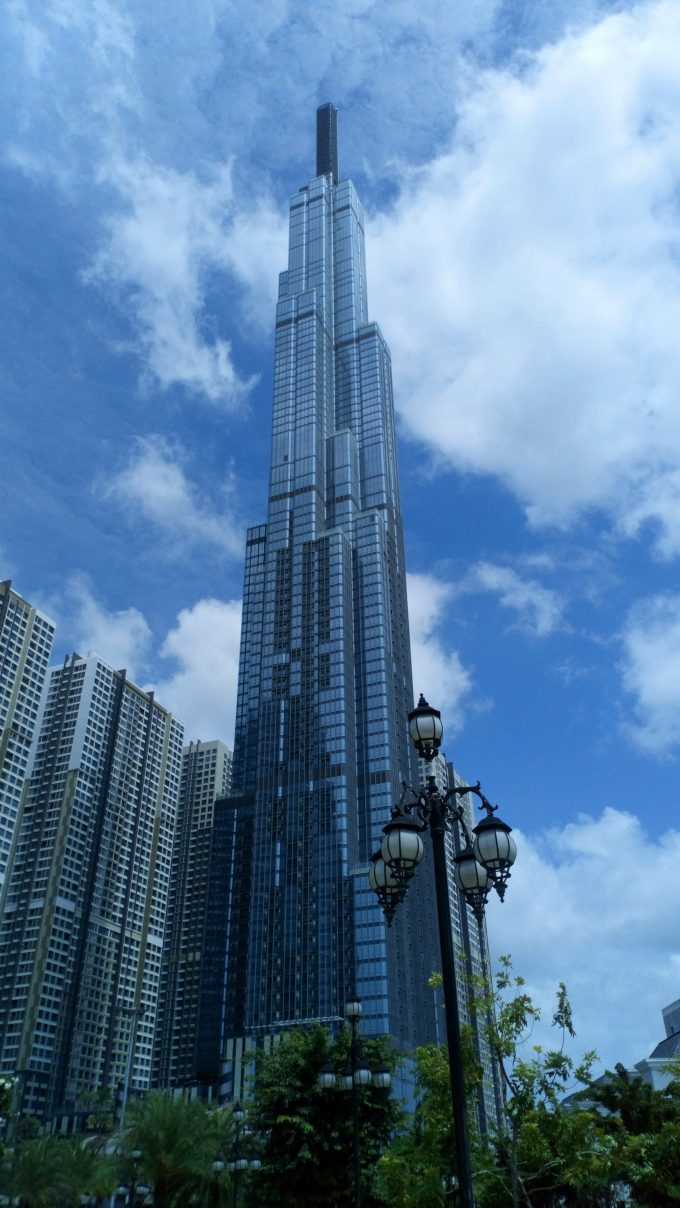 Landmark 81 in Ho Chi Minh City - the tallest building in Southeast Asia