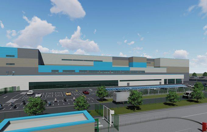 Amazon let warehouse at Littlebrook. Credit: Tritax
